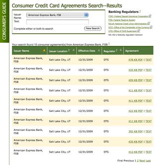 Creditagreementsearch