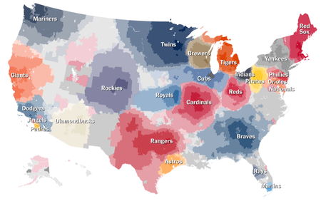 On the cool maps about baseball fandom