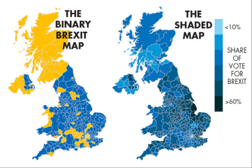 Brexit, Bremain, the world did not end so dataviz people can throw shade and color