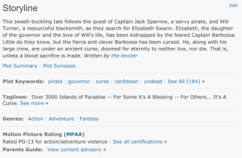 Imdb_pirates_keywords