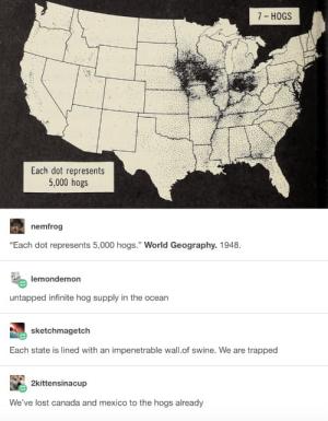 Hog wild about dot maps