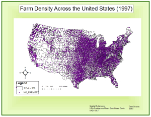 Farm-Dot Density