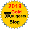 Kdnuggets_goldbadge