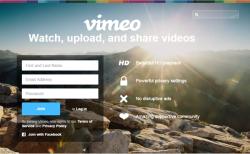 Vimeo-homepage