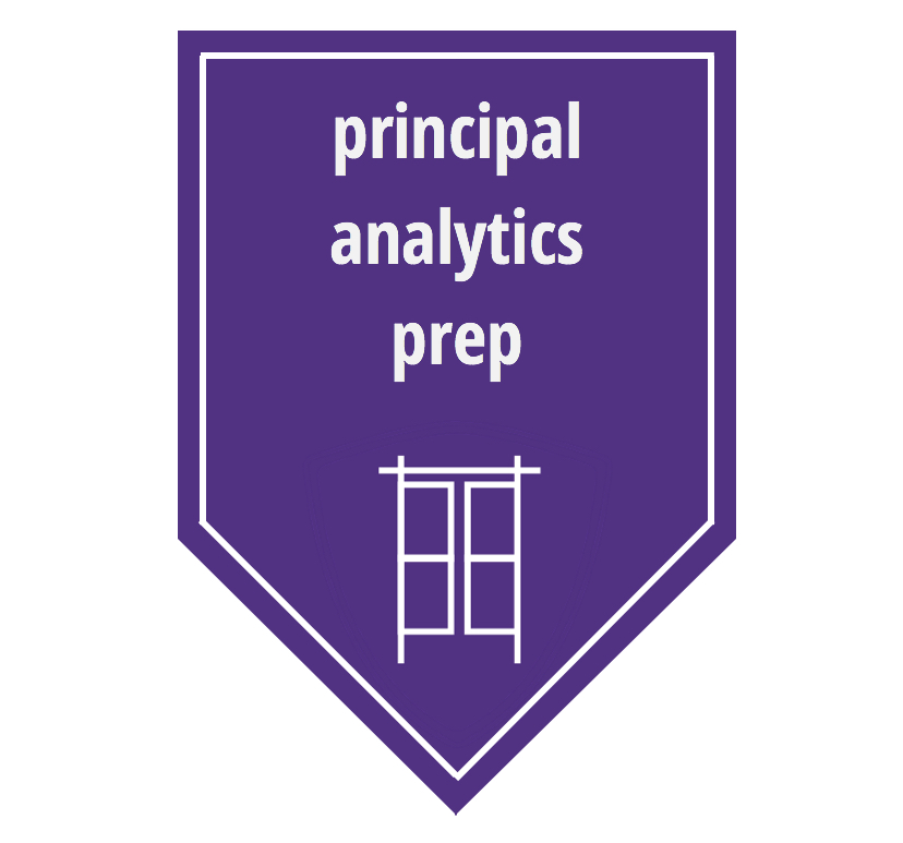Link to Principal Analytics Prep