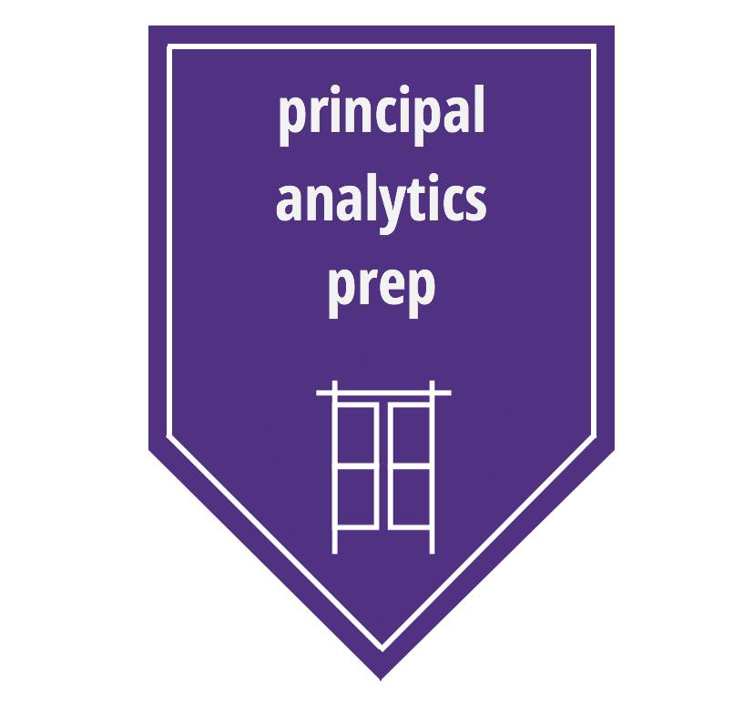 Link to Principal Analytics Prep